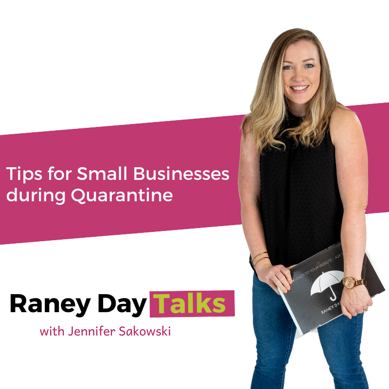 Tips for small businesses during quarantine